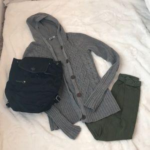 Roxy cardigan size medium